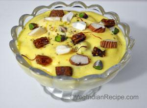 Gujarati recipes indian vegetarian recipes vegindianrecipe dry fruit shrikhand recipe forumfinder Images