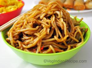 Hakka Noodles Recipe