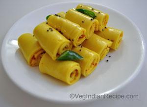 Khandvi recipe indian vegetarian recipes vegindianrecipe khandvi recipe forumfinder Choice Image