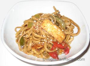 Peanut Noodle With Tofu Recipe
