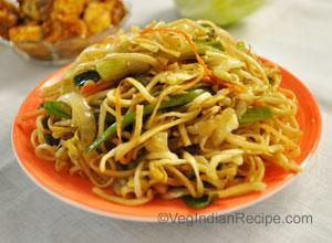 Vegetable Stir Fried Noodles Recipe